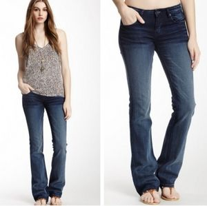 Cult of Individuality Vixen Curvy Flare CZ Jeans